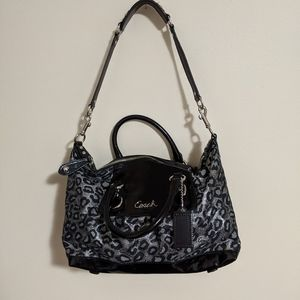 Coach Leopard Shoulder Bag